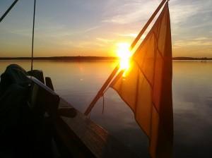 Sonnenuntergang Havel